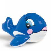 Brinquedo Infl�vel Aqu�tico Intex Baleia Azul 58590 PUFFN PLAY