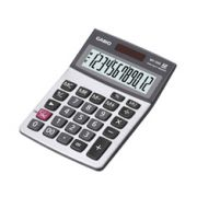 Calculadora de mesa Casio MX-120S 12 D�gitos, Big Display, Prata