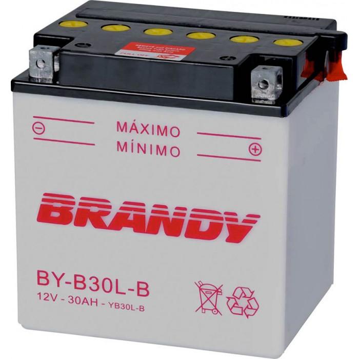 BATERIA BRANDY - 30AMP (BY B30L-B) HARLEY / QUADRICICLO JET