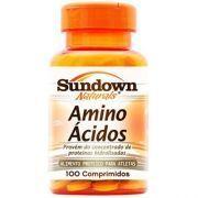 Amino �cidos - 100 Comprimidos - Sundown