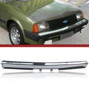 Parachoque Dianteiro Lamina Chevette Chevy 500 Maraj� 83 a 86 Sem Furo