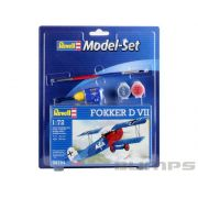 Model-Set Fokker D VII - 1/72 - Revell 64194