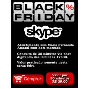 Consultoria Skype Black Friday 30 minutos