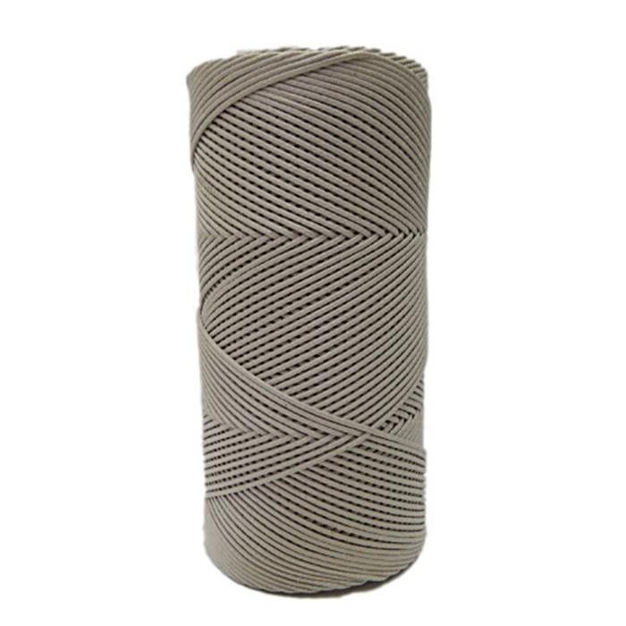 Cord�o encerado fino bege (0072)10mts- CDF019