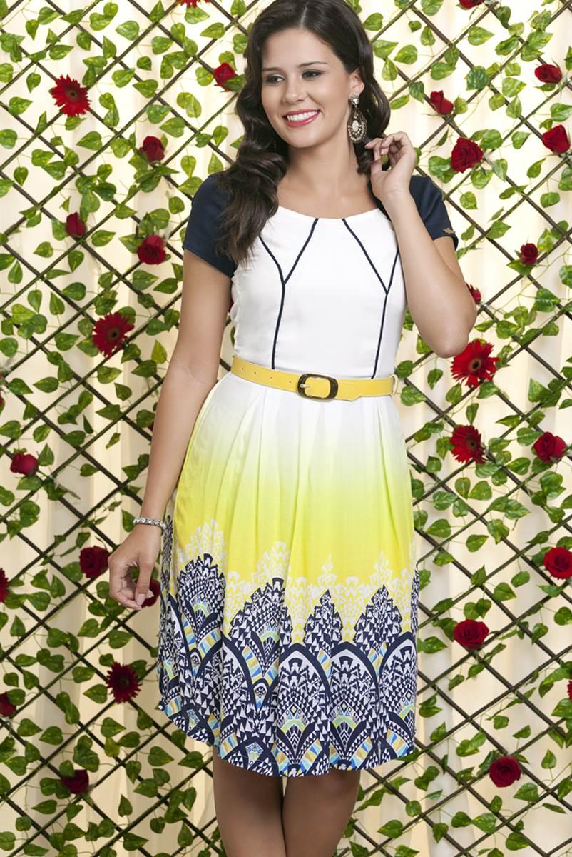 Vestido Bella Heran�a Margarida Premium 6218