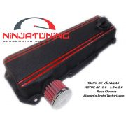 Tampa de V�lvulas para Motor AP - 1.6 , 1.8 e 2.0 - preto /vermelho
