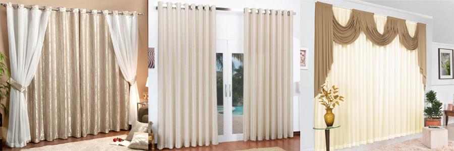 Como combinar o ambiente com cortinas estampadas