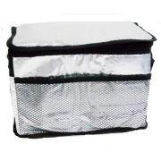 Bolsa T�rmica 13 Litros Metalizada com Bolso Externo e Al�a Wincy SCB0101