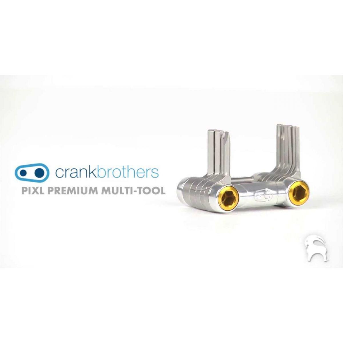 Canivete de Ferramentas Crank Brothers Premiun pixl 11 Fun��es