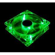 Cooler Fan LED Verde 12cm 120x120mm DEX DX-12L