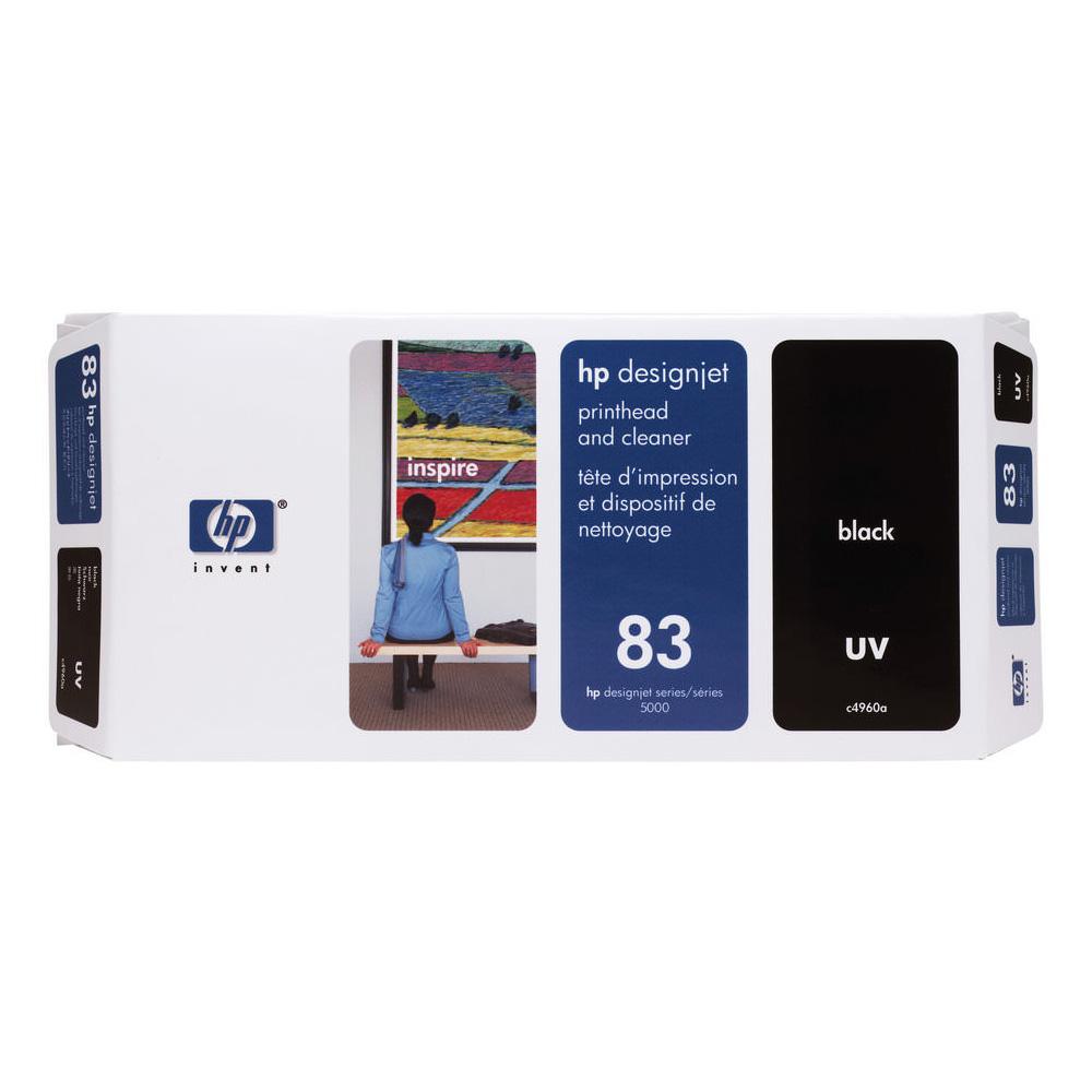 Cabeça de Impressão HP 83 C4960A Black