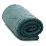 Cobertor Manta para Solteiro Microfibra - Azul