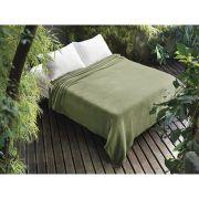 Cobertor Manta para Casal Microfibra - Verde