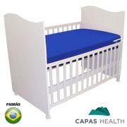 Capa de Colch�o Hospitalar Imperme�vel Ber�o Nacional Azul 0,60 x 1,30 x 0,10 cm