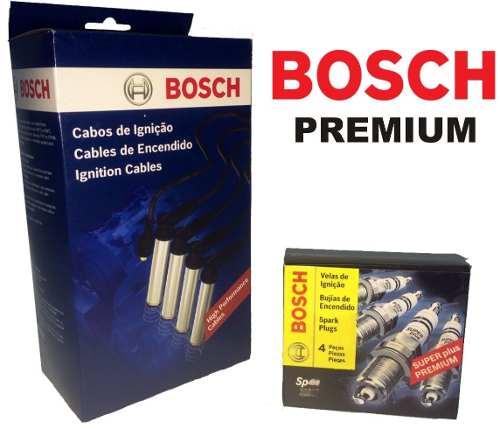 Kit Cabos E Velas Bosch Fiat Palio Fiasa 1.0 Gasolina 96 / 01 F00099C058 | F000KE0P02 consulte aplicação